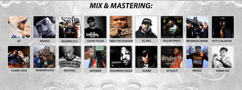 mixmastering credits